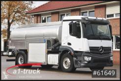 Camião Mercedes 1843 LL Milch,Milk,Schwarte isoliert Aufbau,V2000 cisterna alimentar usado