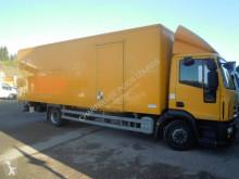 Teherautó Iveco Eurocargo 120 E 18 használt polcozható furgon