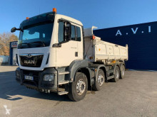 MAN TGS 35.460 truck used two-way side tipper