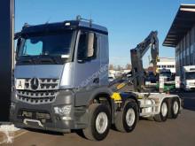 Camion polybenne Palfinger Mercedes-Benz Arocs 3745 L 8x2 Hook truck