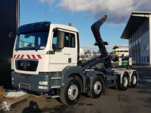 Camion MAN TGS35.400 8x6 Meiller Hook truck polybenne occasion