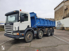 Scania P124 360 truck used two-way side tipper
