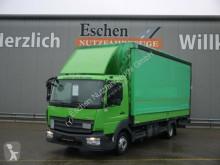 Camión Mercedes 818 L Atego, EUR6, LBW, Spurhalte, Edscha lona corredera (tautliner) usado