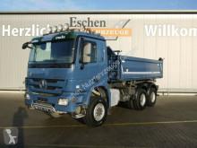 Mercedes tipper truck 3344 AK,6x6, MEILLER 3-S-Kipper, Telligent,Klima