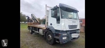 Camião Iveco Stralis 310 estrado / caixa aberta usado