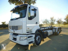 Renault hook arm system truck