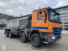 Camion polybenne Mercedes Actros 4144 8x4 Euro 5 Abrollkipper Hyva 30T