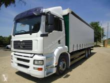 Ciężarówka MAN firanka używana