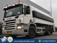 Camion Scania P 340 cisternă produse chimice second-hand