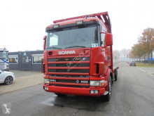 Scania box truck 144 460 (2 BEDS -RETARDER - MANUAL GEARBOX)