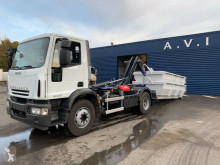Iveco hook arm system truck Eurocargo 160 E 22 K tector