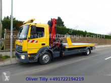 Mercedes tow truck Atego1230*E6*KRAN*ALU Plateau*Winde*2AHK*Brille