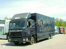 Camion MAN 12.192 Pferdetransporter*Platz für 5 Pferde* van à chevaux occasion