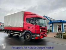 Camion savoyarde Scania 94G 260 Pritsche + Plane Bordwände