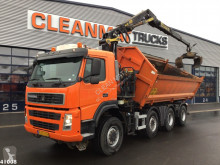 Terberg FM 1950 Palfinger 16 ton/meter Z-kraan truck used two-way side tipper