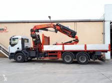 Camião estrado / caixa aberta Renault 370 6X4 PALFINGER PK 44002 + JIB