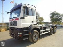 MAN TGA 26.440 truck used hook arm system