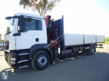 MAN TGS 18.320 truck used flatbed