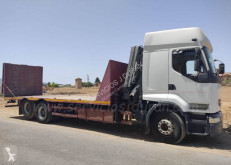 Renault heavy equipment transport truck