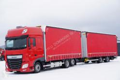 Camion DAF 106 / 460 / SSC / ACC / E 6 / ZESTAW PRZEJAZDOWY + remorque rideaux coulissants rideaux coulissants (plsc) occasion