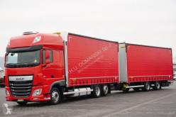 DAF tautliner truck 106 / 460 / SSC / ACC / E 6 / ZESTAW PRZEJAZDOWY + remorque rideaux coulissants
