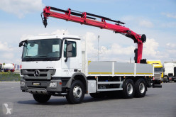 Camion Hiab MERCEDES-BENZ ACTROS / 2536 / SKRZYNIOWY + HDS / MANUAL plateau occasion