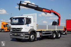 Flatbed truck MERCEDES-BENZ AXOR / 2633 / E 5 / SKRZYNIOWY + HDS / MANUAL