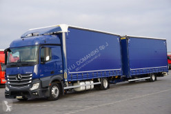 Camion rideaux coulissants (plsc) MERCEDES-BENZ ACTROS / 1830 / ACC / EURO 6 / ZESTAW PRZEJAZDOWY + remorque rideaux coulissants