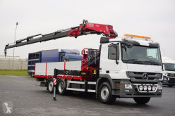 Camion MERCEDES-BENZ ACTROS 2532 / E 5 / SKRZYNIOWY + HDS / 6 X 2 plateau occasion