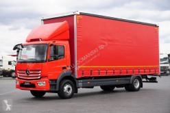 Ciężarówka firanka MERCEDES-BENZ ATEGO / 1524 / E 6 / FIRANKA / 18 PALET / MANUAL