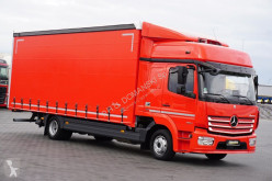 Vrachtwagen MERCEDES-BENZ ATEGO / 1224 / EURO 6 / ACC / FIRANKA / ŁAD. 5750 tweedehands Schuifzeilen