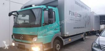 Mercedes box truck 824 L Blatt Luft, Euro-5