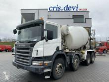 Scania betonkeverő beton teherautó P380 8x4 Stetter 9 cbm