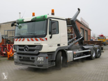 Mercedes Actros 2541 L6x2 Abrollkipper Meiller RK 20.70 truck used hook arm system