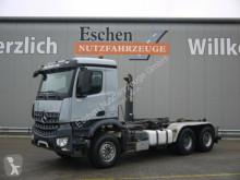 Camión Gancho portacontenedor Mercedes Arocs Arocs 2640L 6x4, HIAB XR21 S51, Klima, AP-Achsen