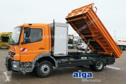 Camión volquete trilateral Mercedes 1222 K Atego 4x2, Meiller, Anbauplatte, AHK