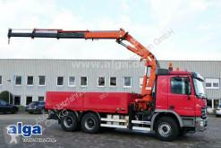 Mercedes dropside truck 2648 K Actros 6x4, Kran Terex/Atlas 240.2, Funk