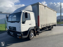 MAN LE 12.220 truck used tautliner
