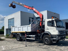 Mercedes Axor 1829 truck used two-way side tipper
