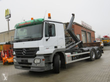 Camion Mercedes Actros 2541 L6x2 Abrollkipper Meiller RK 20.70 polybenne occasion