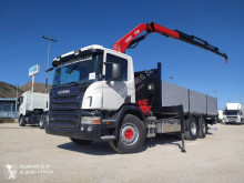 Scania P 380 truck used flatbed