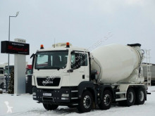 MAN TGS 32.400/CEMENTMIXER 9M3 /LIEBHERR/ MANUAL/EEV truck used concrete mixer