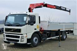 Camião Volvo FM 260 Pritsche 7,50m + Kran*4x2* estrado / caixa aberta usado