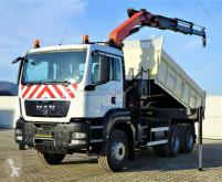 Camion MAN TGS 33.400 Kipper 4,40 m + Kran/Funk *6x4! cassone usato