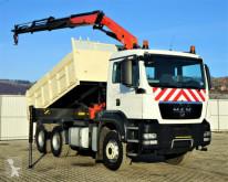 Camion benne MAN TGS 33.400 Kipper 4,40 m + Kran/Funk *6x4!