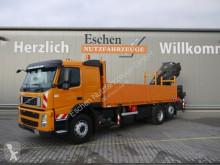 Volvo FM 380, 6x2 Lift/Lenk, HIAB 377 EP-5, Funk, EUR5 truck used dropside