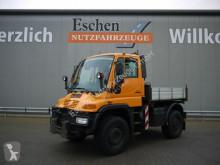 Camion Unimog U400 4x4, 405/12, Zapfwelle, Kommunalplatte plateau ridelles occasion
