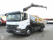 Mercedes three-way side tipper truck Atego 1224 K 2-Achs Kipper Kran Topzustand