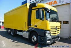 Mercedes beverage delivery flatbed truck Actros 2543 Stream Space Getränke Plane LBW 2 to