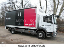 Mercedes 1218 Pritsche/LBW truck used beverage delivery flatbed